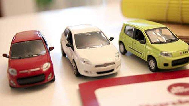 FIAT-miniatura