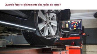 alinhamento das rodas do carro