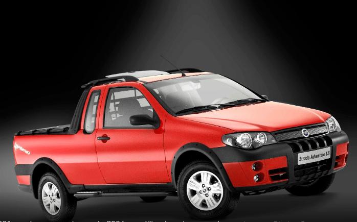 Fiat Strada modelo 2004