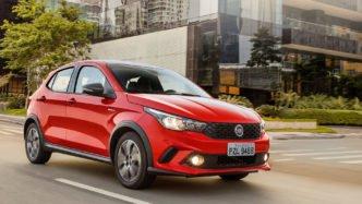 Fiat Argo diferenciais