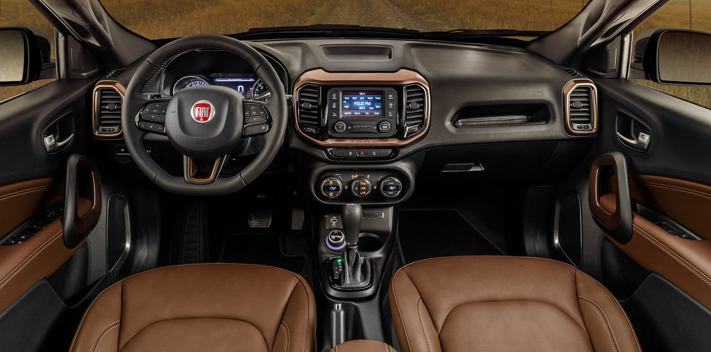fiat toro ranch interior