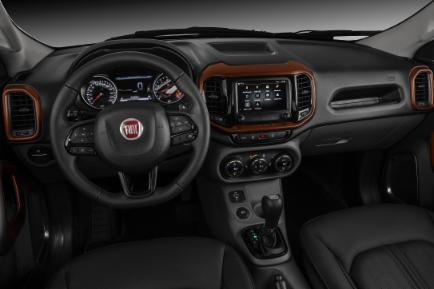 Novo Toro Fiat 2020 - Interior