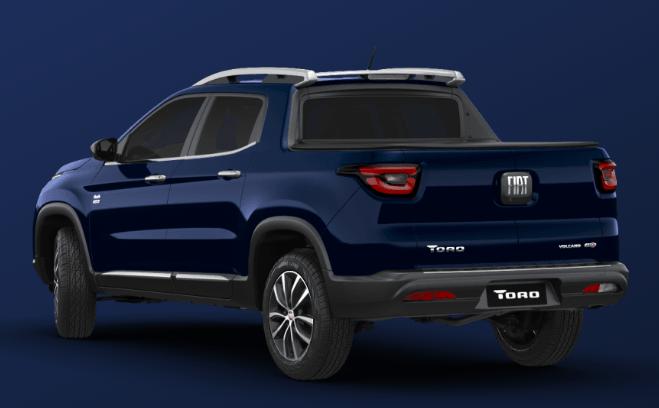 Novo Toro Fiat 2020 - Tampa traseira