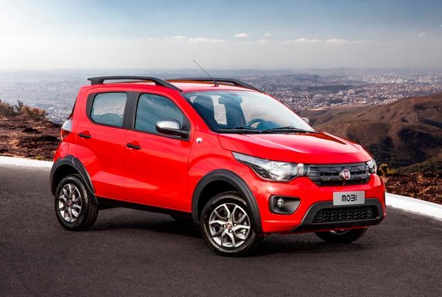 Carros pequenos da Fiat: Mobi
