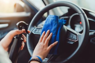 como manter o carro limpo