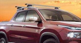 Acessórios Fiat Toro: Barra transversal de teto