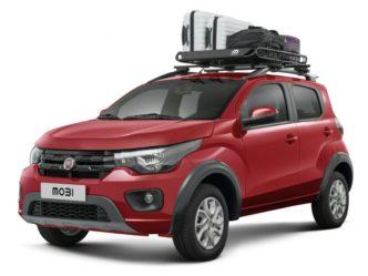 acessórios para carros Fiat Mobi