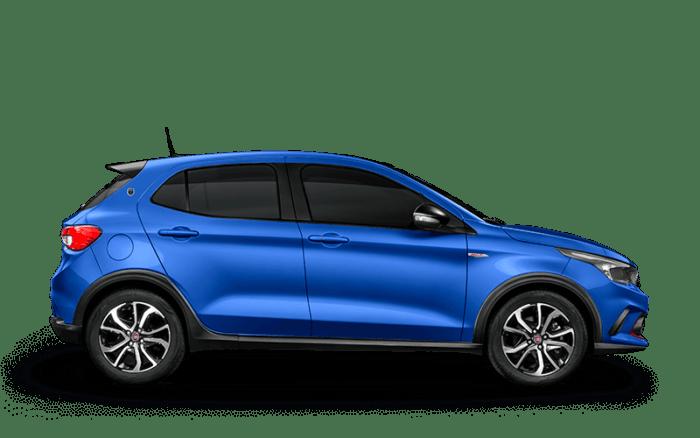 """Carro azul, tipo Hatch, no artigo """"Como escolher o carro ideal?"""""""