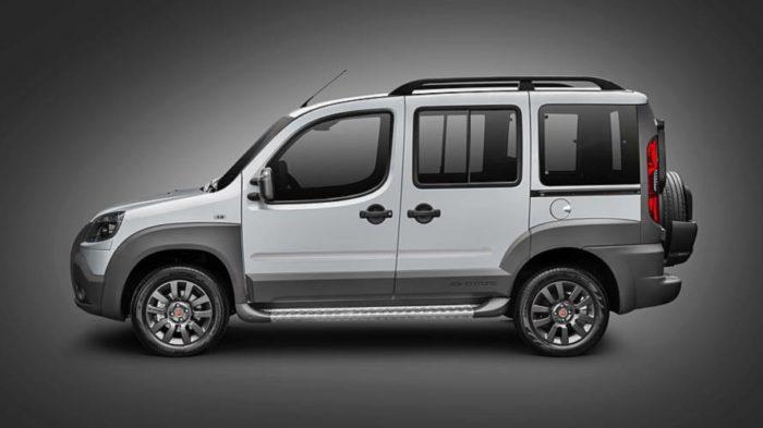 Carros para família grande: Fiat Doblò
