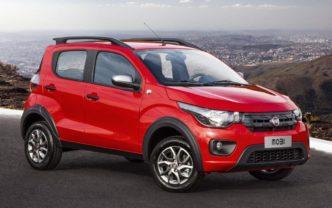 Fiat Mobi consumo de combustível