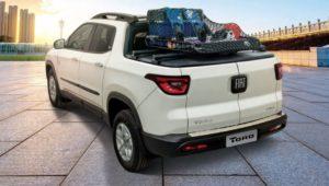 Acessórios Fiat Toro: Bagageiro tubular