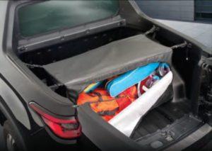 Acessórios Fiat Toro: Bolsa para caçamba