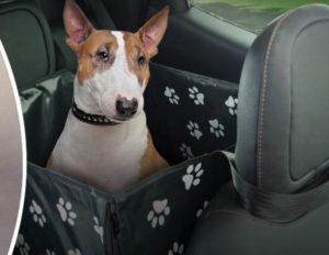 Acessórios Fiat Toro: Capa para transporte de animais